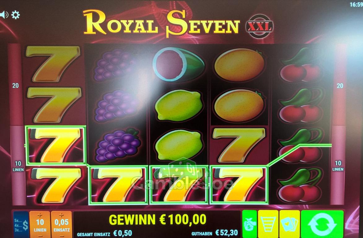 Royal Seven XXL Gewinnbild von Matrix1974