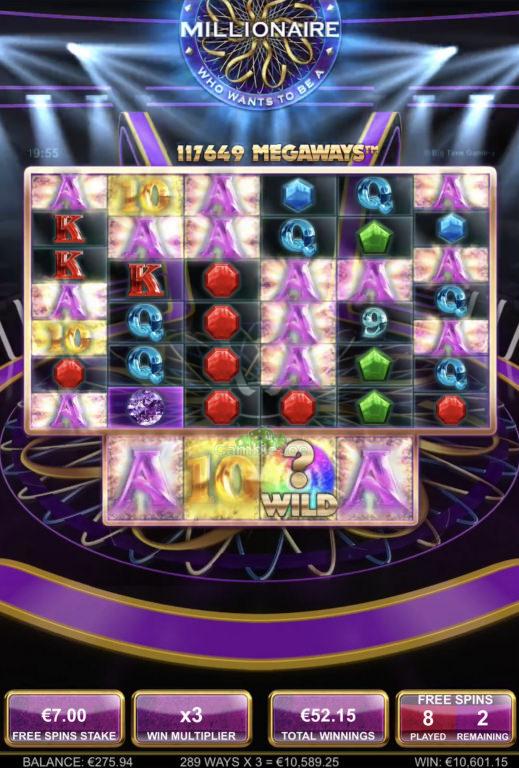 Who Wants to Be a Millionaire Gewinnbild von Jincy89