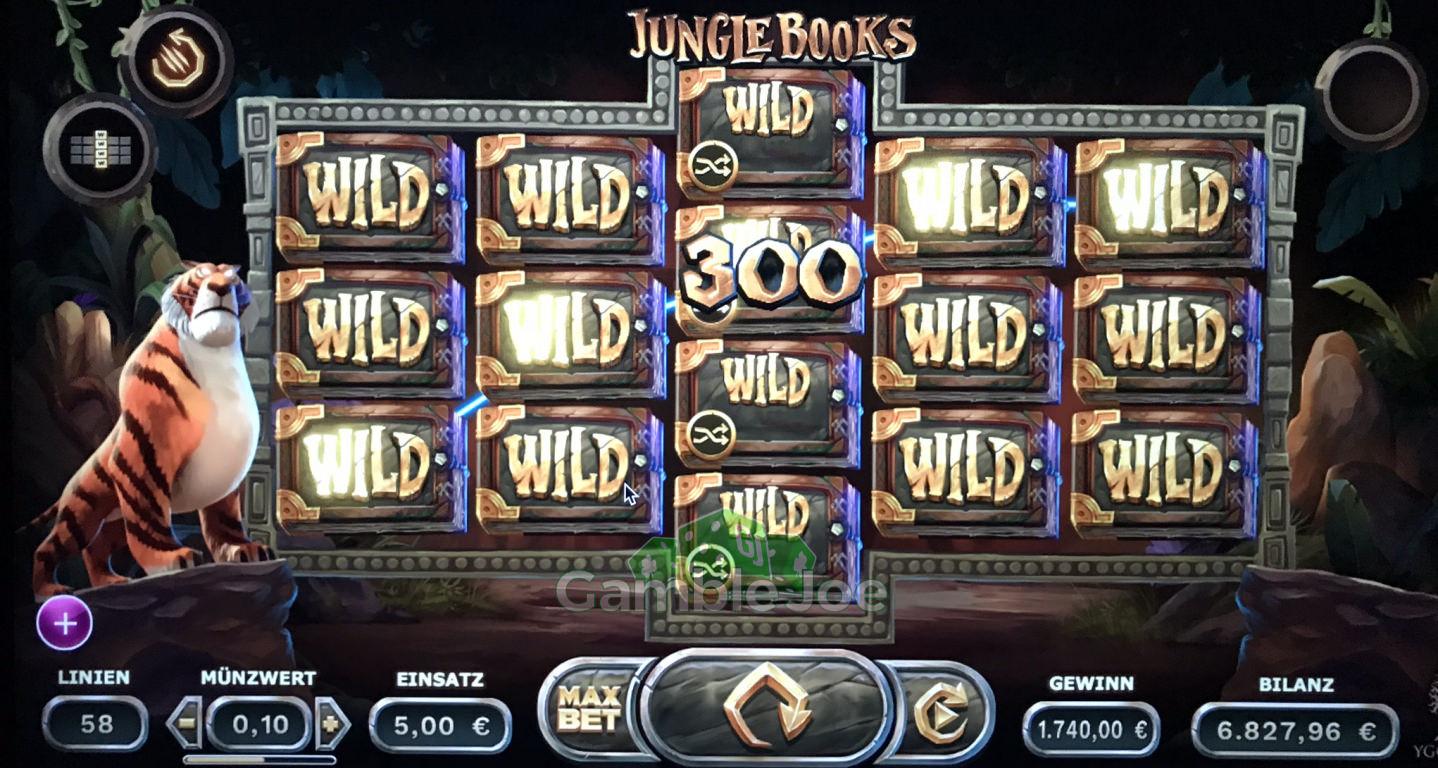 Jungle Books Gewinnbild von Noermchen