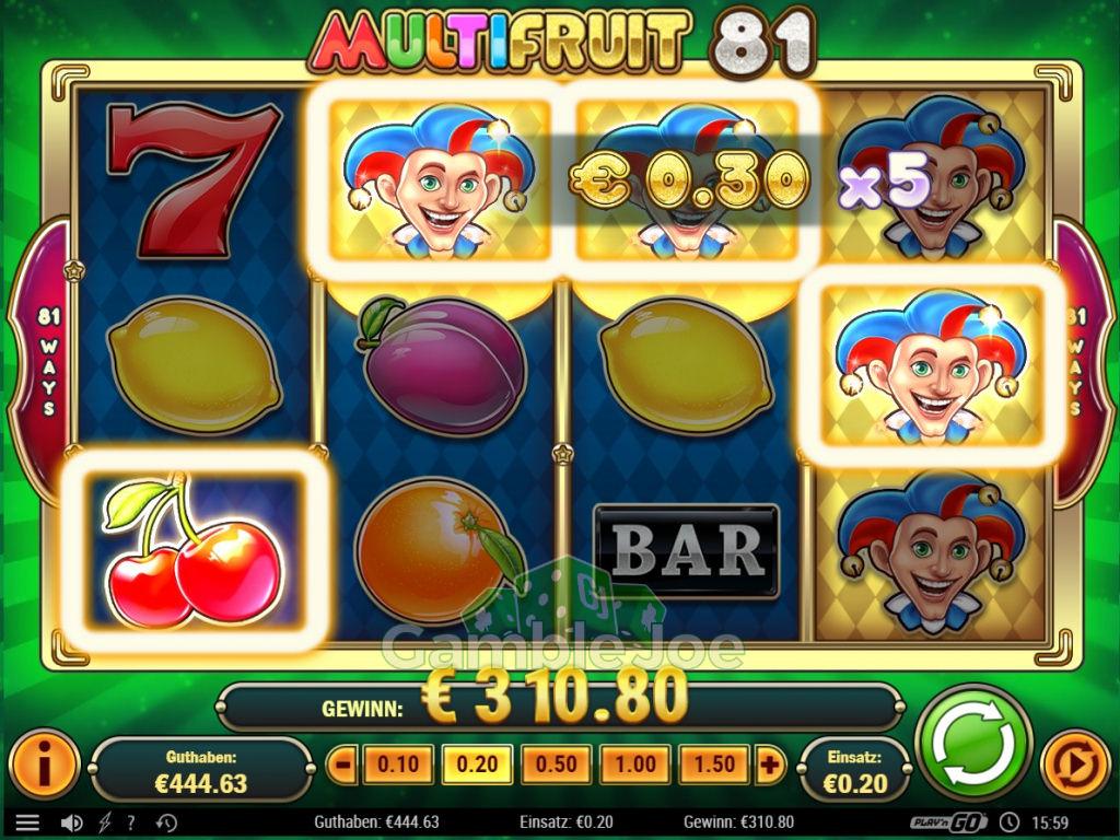 Multifruit 81 Gewinnbild von scr1mka
