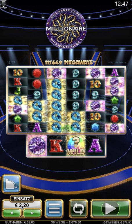 Who Wants to Be a Millionaire Gewinnbild von Highhopes
