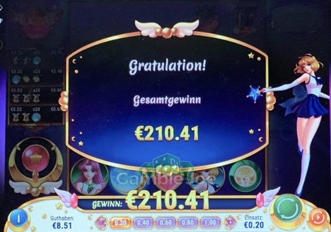 Moon Princess Gewinnbild von MegaS