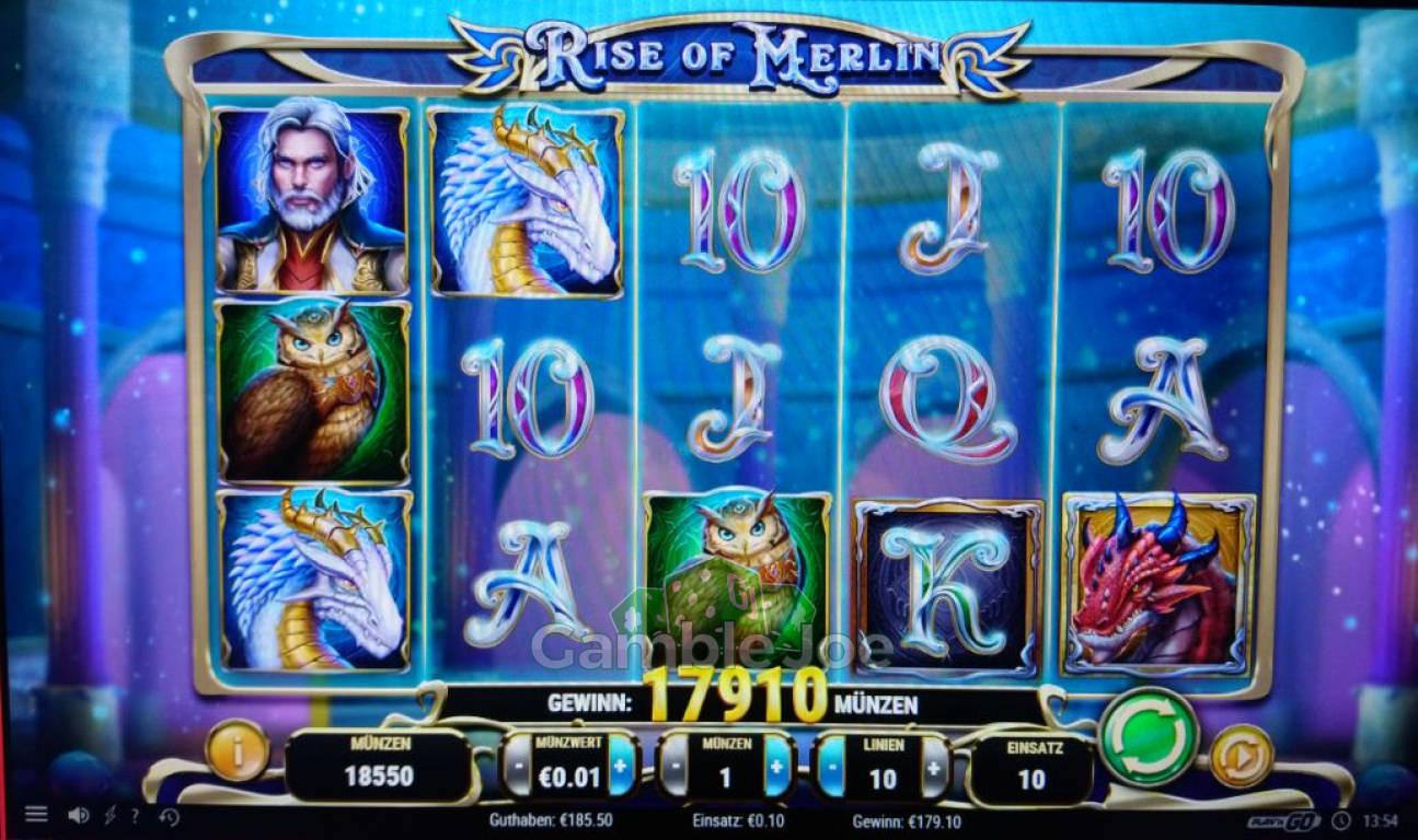 Rise of Merlin Gewinnbild von redriver67
