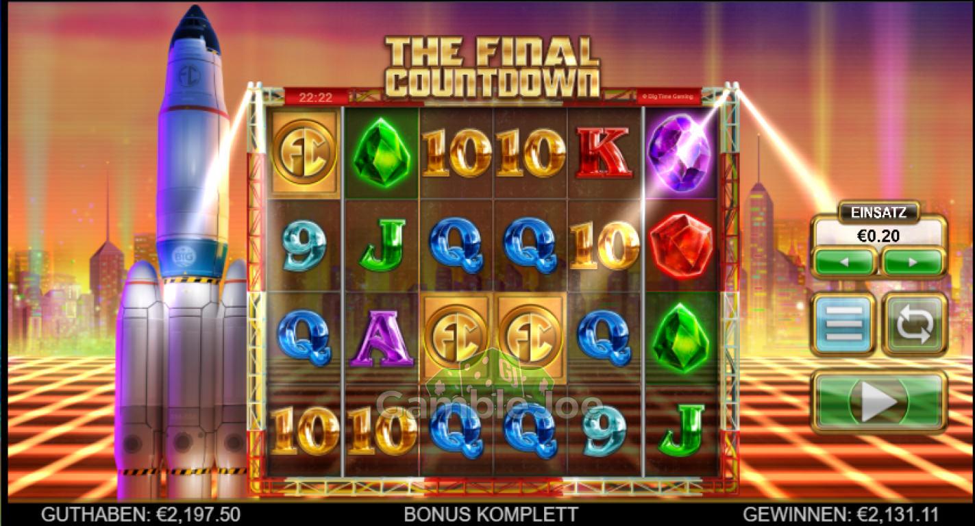 The Final Countdown Gewinnbild von Loco187