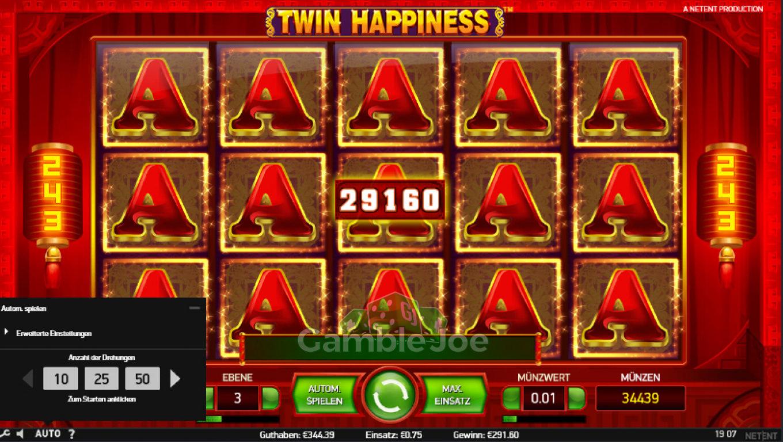 Twin Happiness Gewinnbild von upola