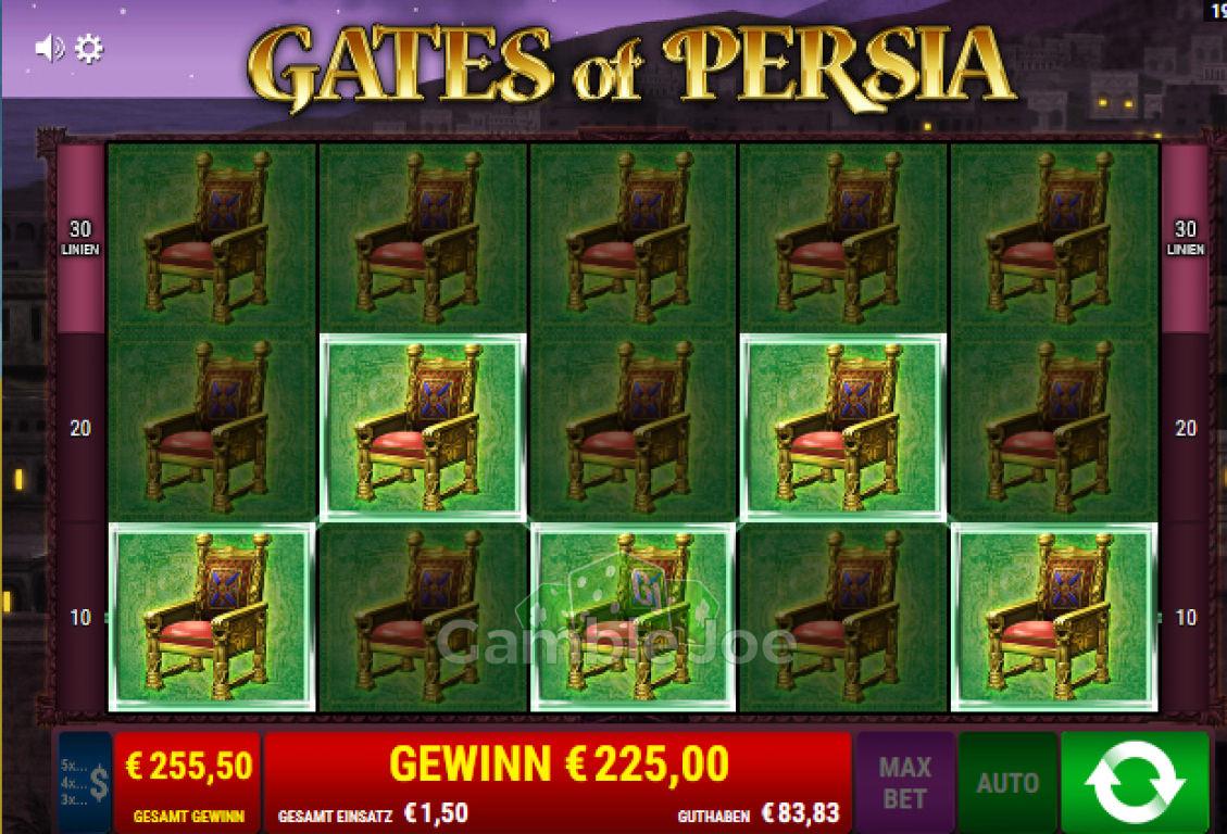 Gates of Persia Gewinnbild von Crazy4U