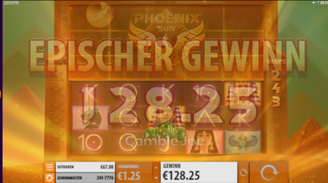 Phoenix Sun Gewinnbild von rcore