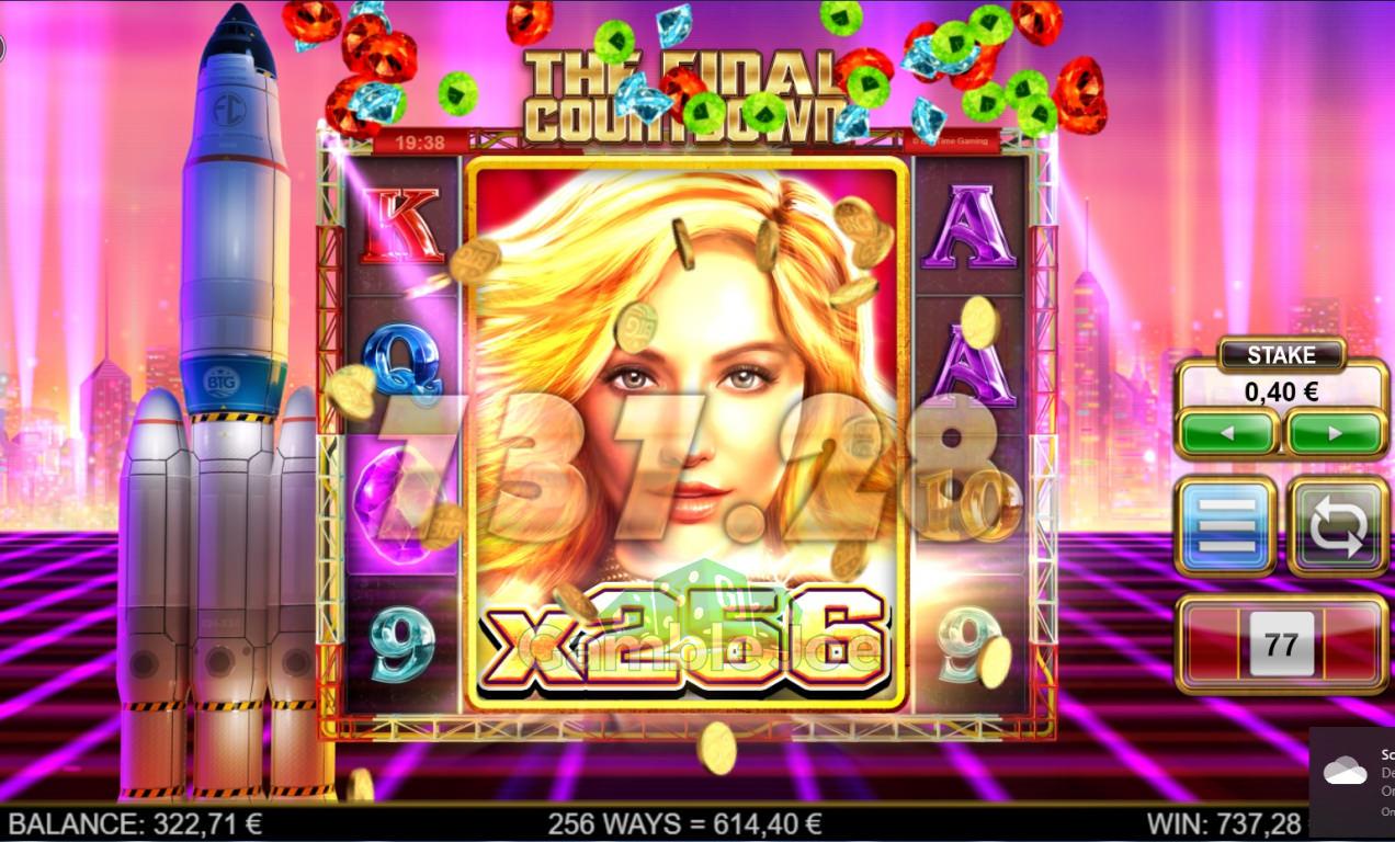The Final Countdown Gewinnbild von A****m