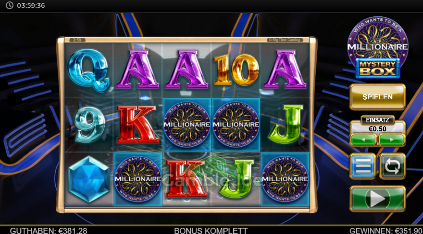 Spiele Who Wants To Be A Millionaire Mystery Box - Video Slots Online