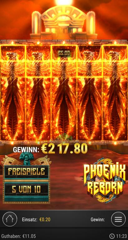Phoenix Reborn Gewinnbild von S****3