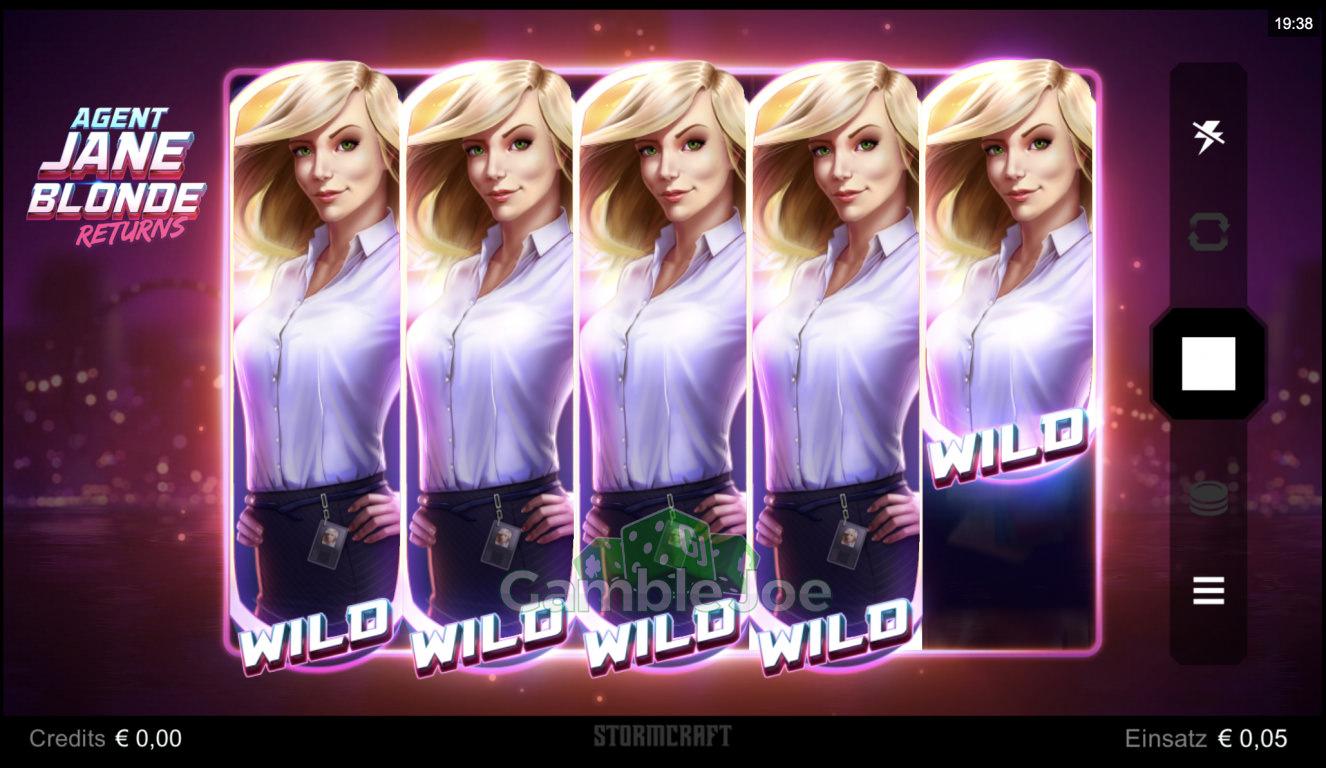 Agent Jane Blonde Returns Gewinnbild von funk2die