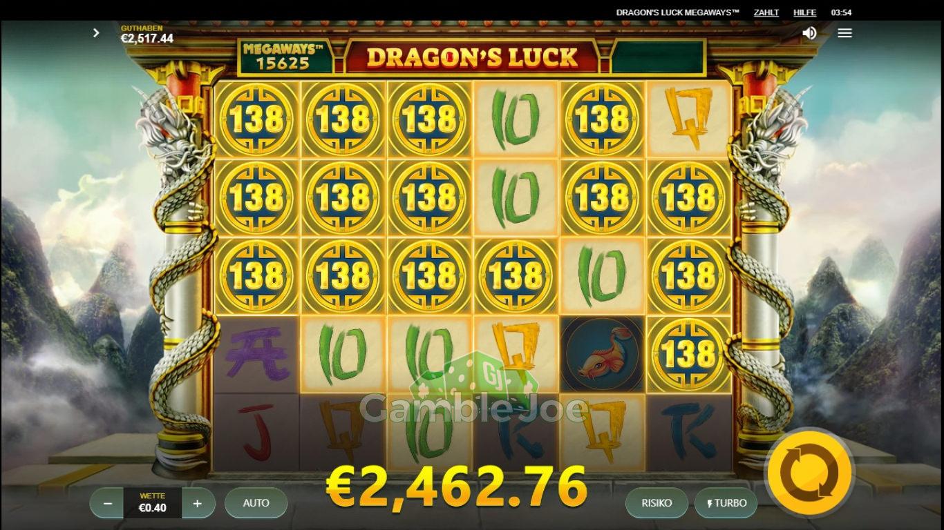 Dragon's Luck Gewinnbild von Reskim