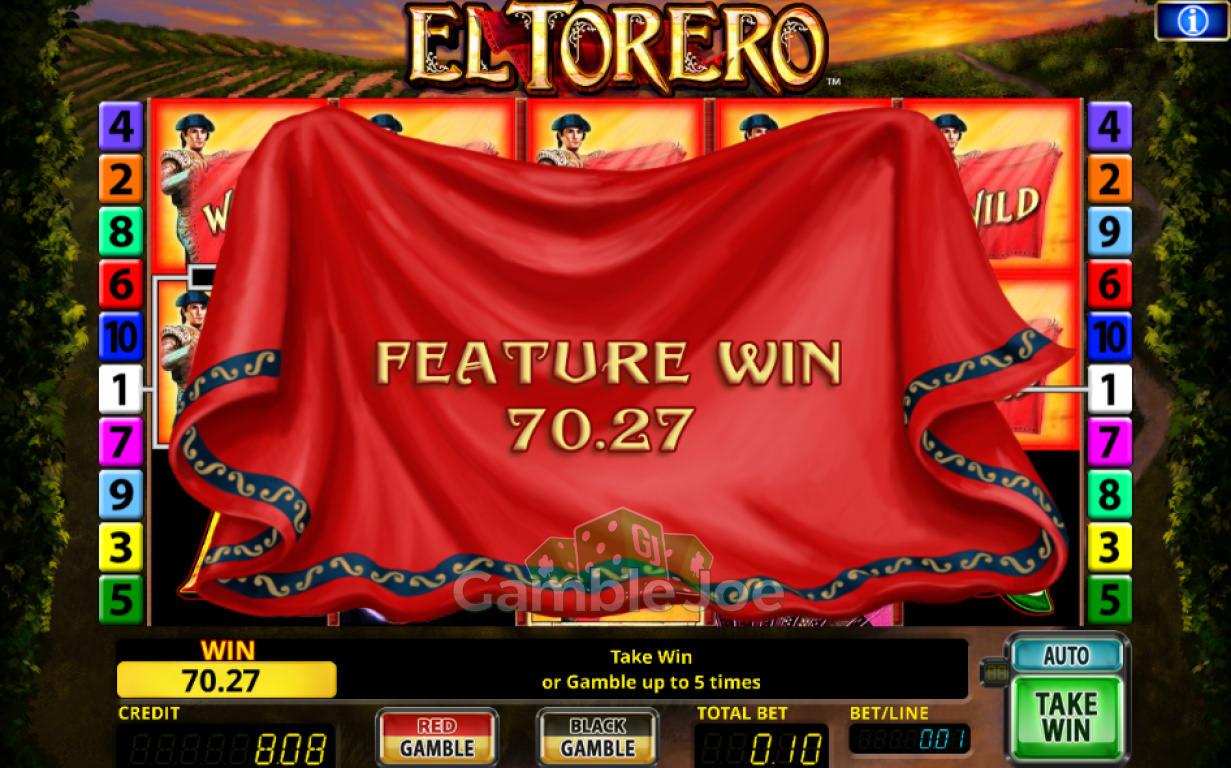 El Torero Gewinnbild von BUZZER2018