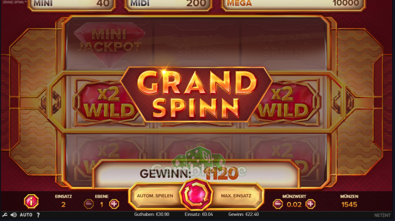 Grand Spinn Gewinnbild von dsp84