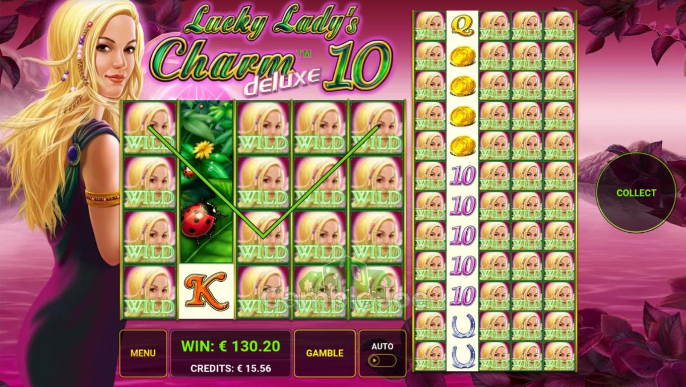 Lucky Lady's Charm Deluxe 10 Gewinnbild von MalerMeister0815
