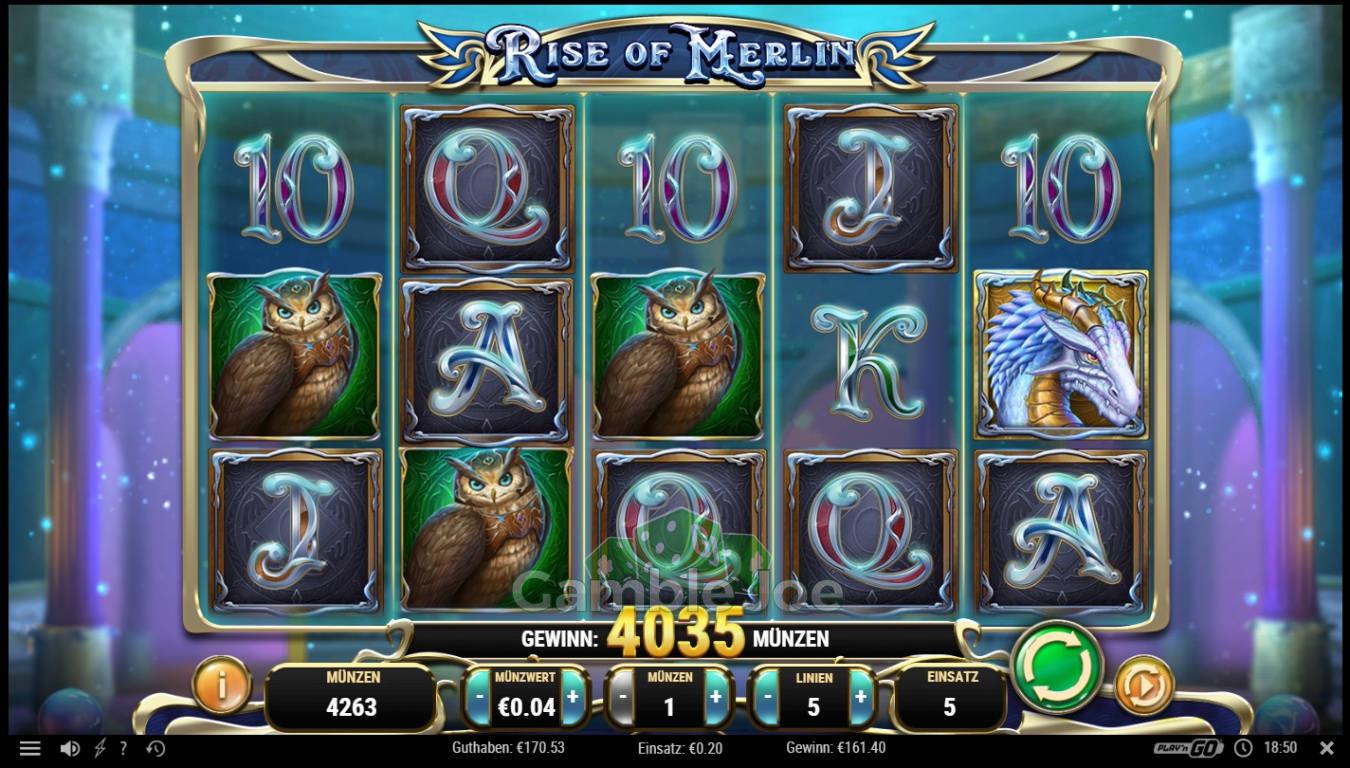 Rise of Merlin Gewinnbild von gagapapamama