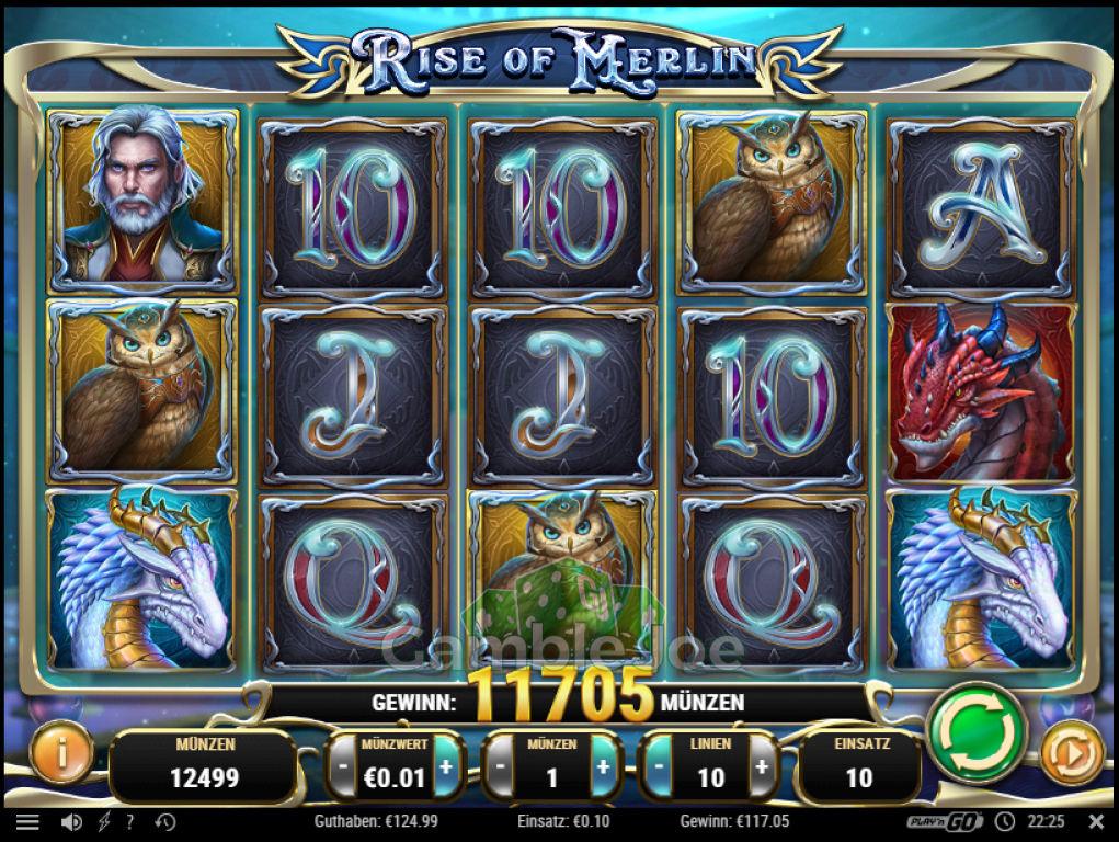 Rise of Merlin Gewinnbild von krabbe666