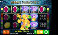 Maaax Diamonds Gewinnbild
