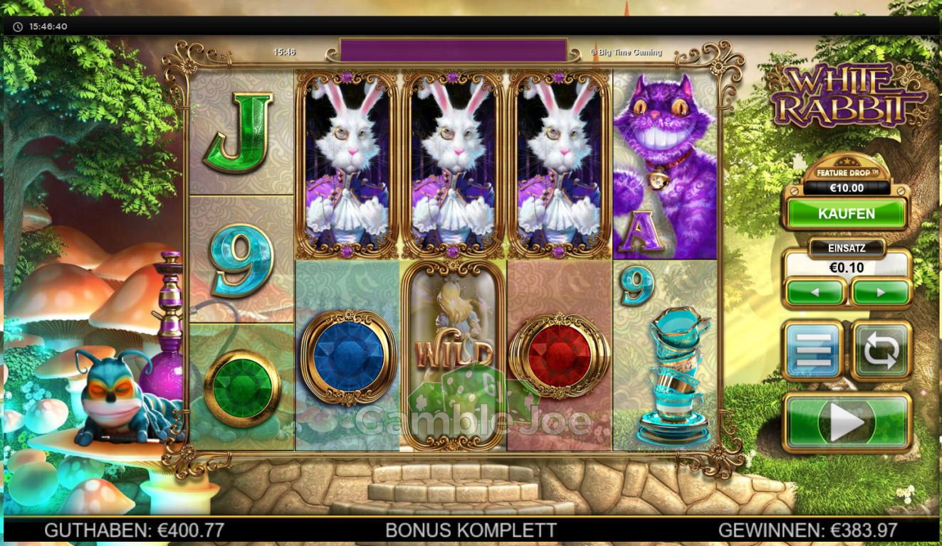 White Rabbit Gewinnbild von Christian1337