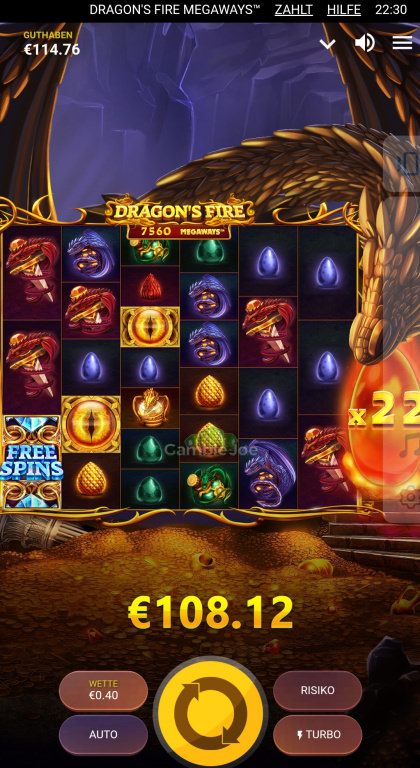 Dragon's Fire Megaways Gewinnbild von Nana1309