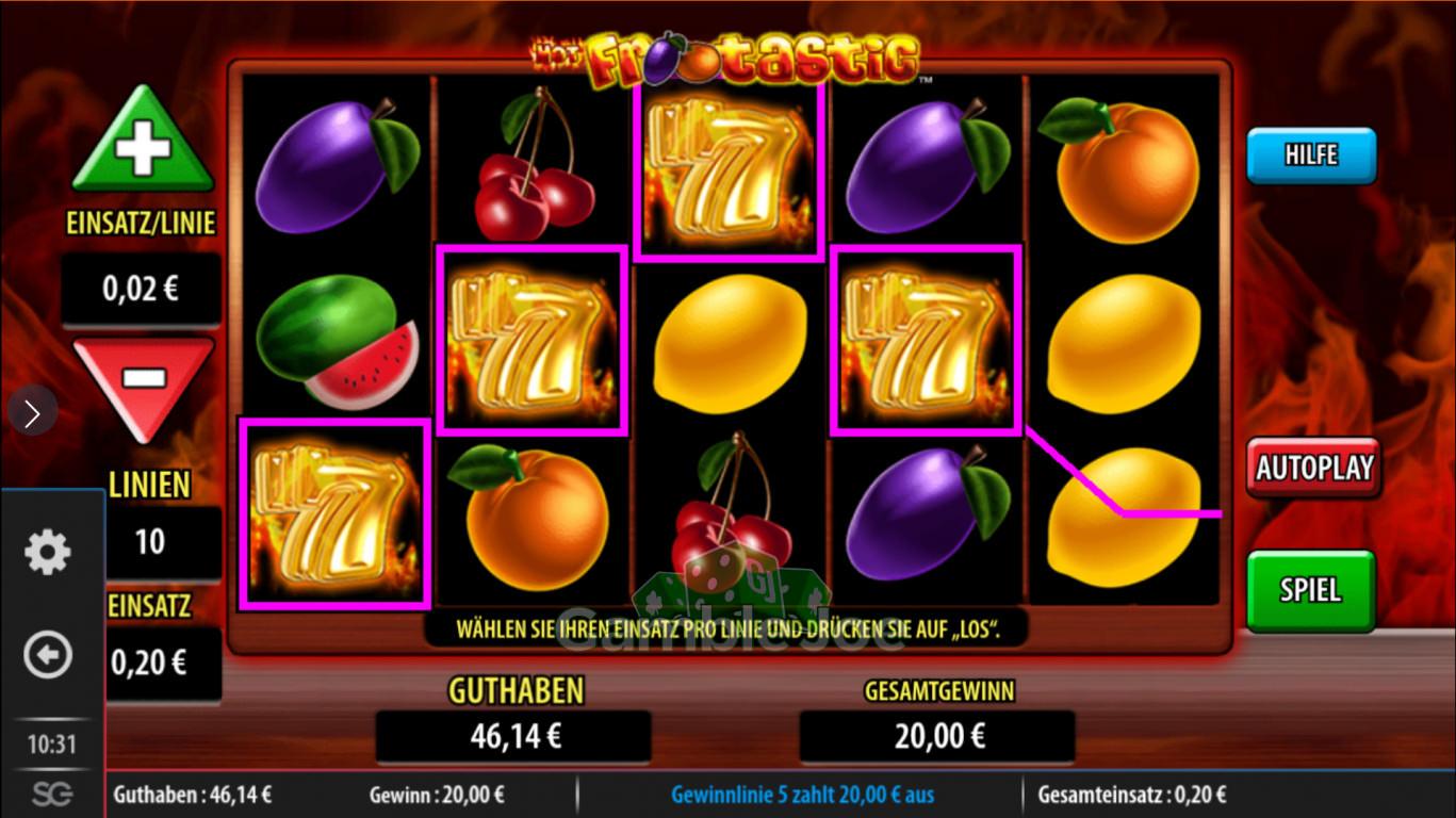 Inferno slots online