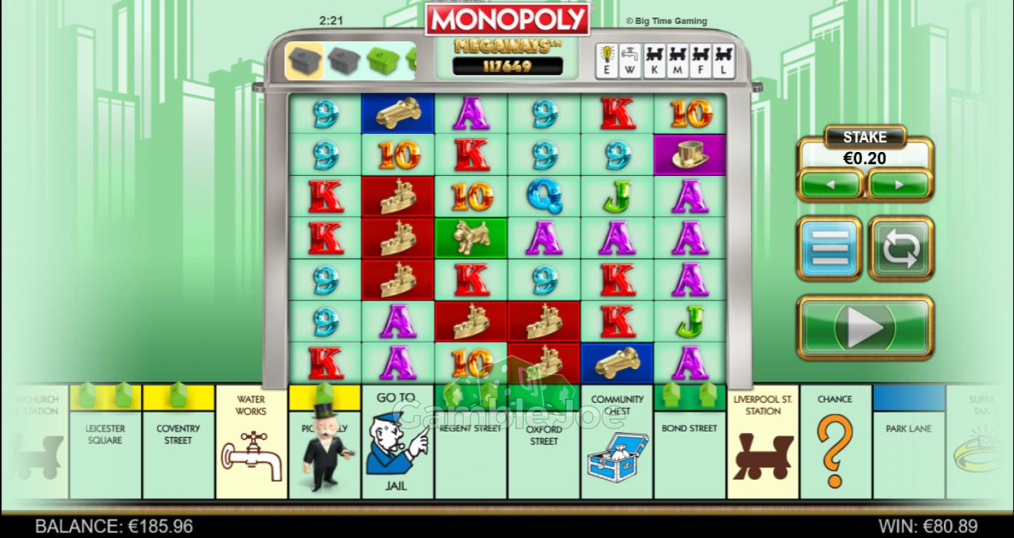 Monopoly Megaways Gewinnbild von s00pernanny