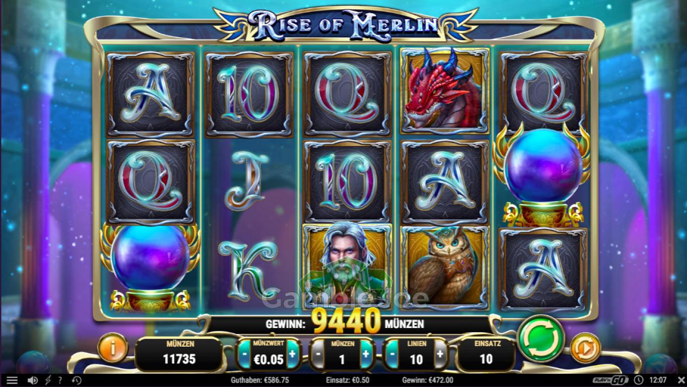 Rise of Merlin Gewinnbild von Max1303