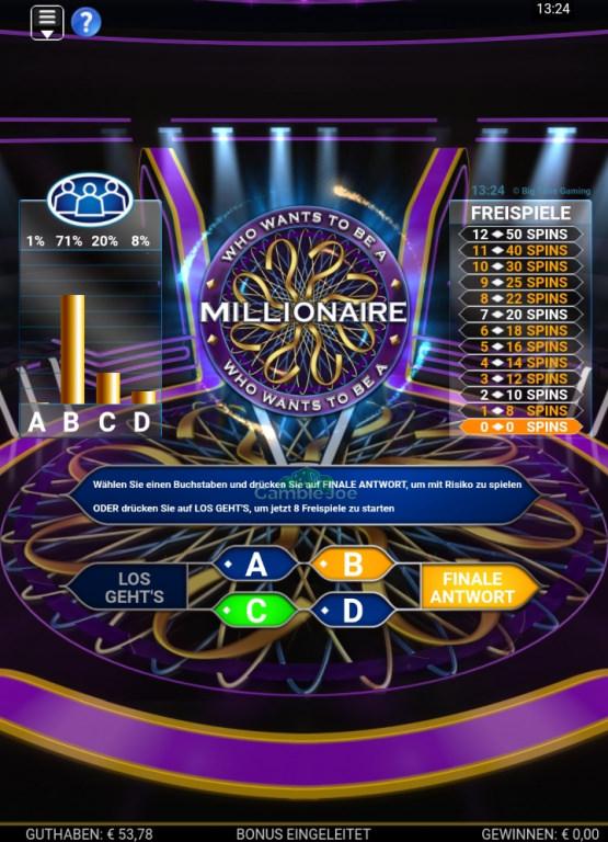 Who Wants to Be a Millionaire: Unglaubliche Bonusrunde