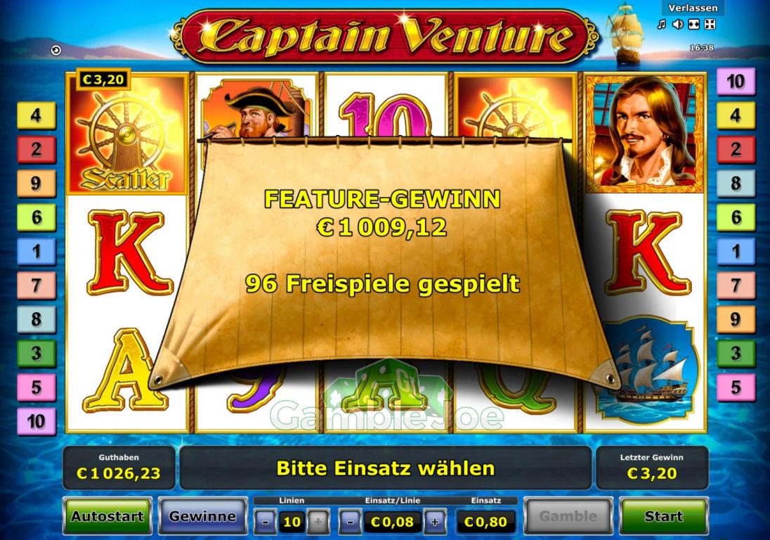 Captain Venture Gewinnbild von Reskim