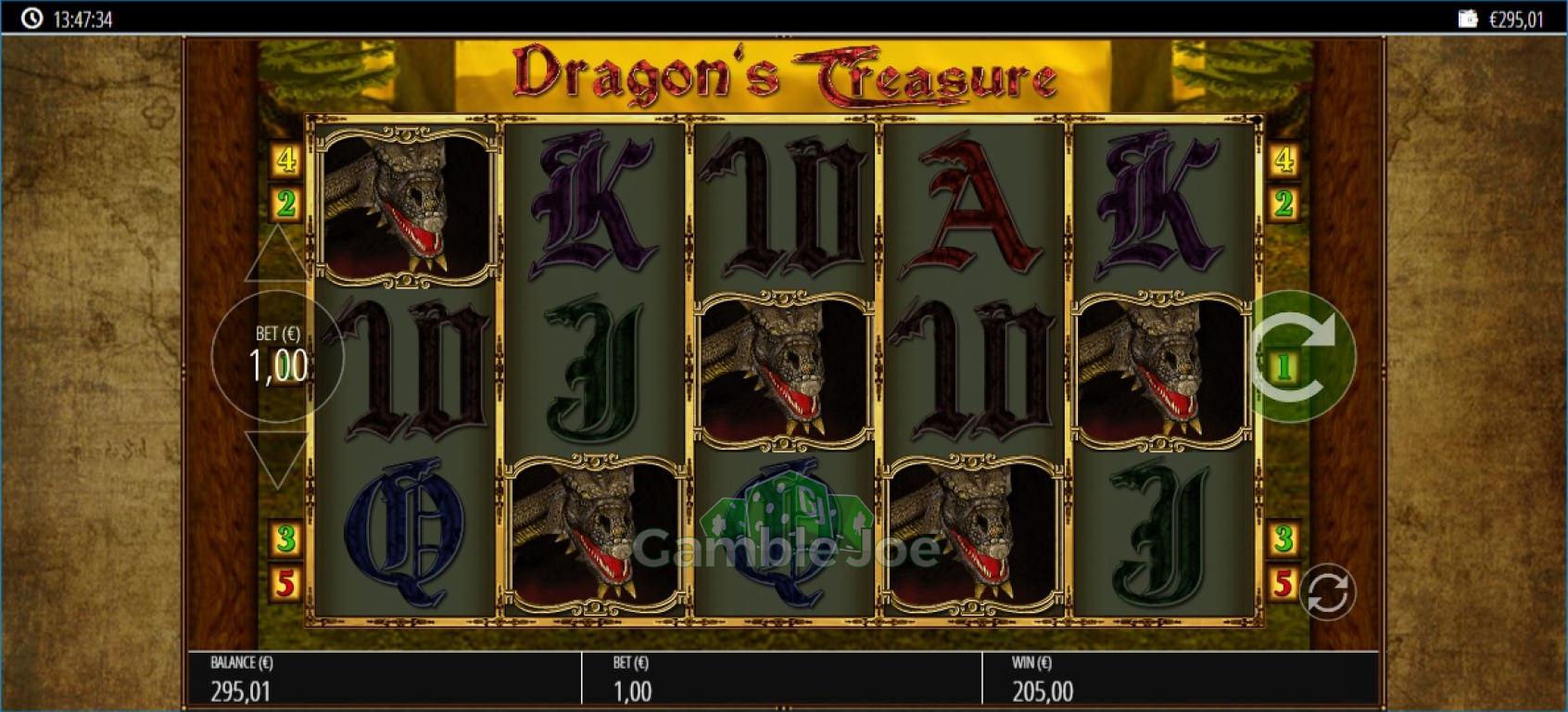 Dragon's Treasure Gewinnbild von Reskim