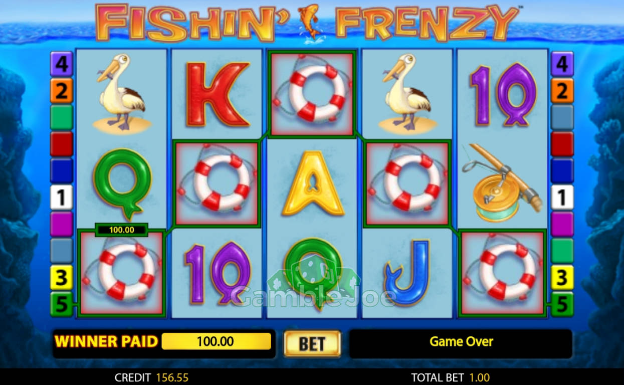 Fishin' Frenzy Gewinnbild von PaScaLiTo