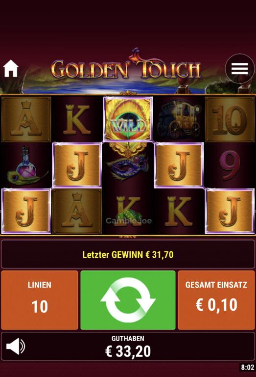 Golden Touch Gewinnbild von Lema1301