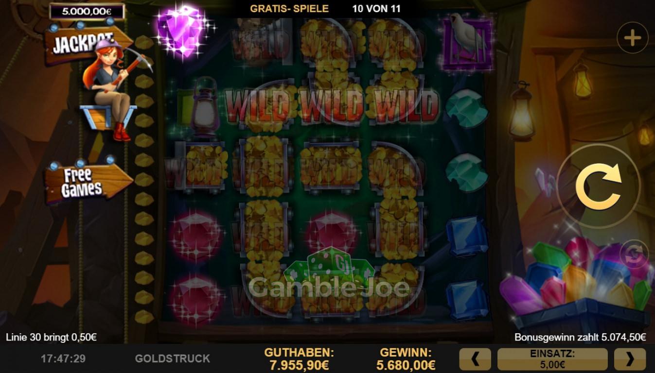 Goldstruck Gewinnbild von Reskim