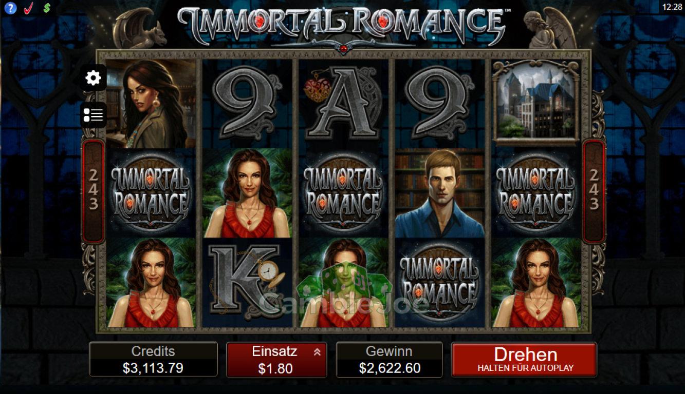 Immortal Romance Gewinnbild von at0602