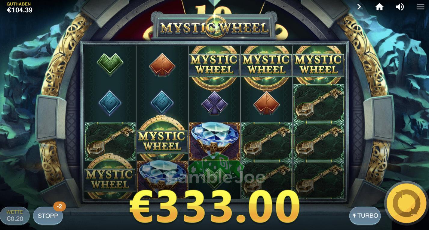 Mystic Wheel Gewinnbild von Sprengsatz