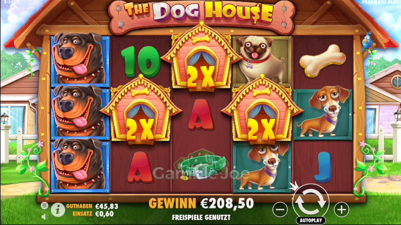 The Dog House Gewinnbild von zuzox