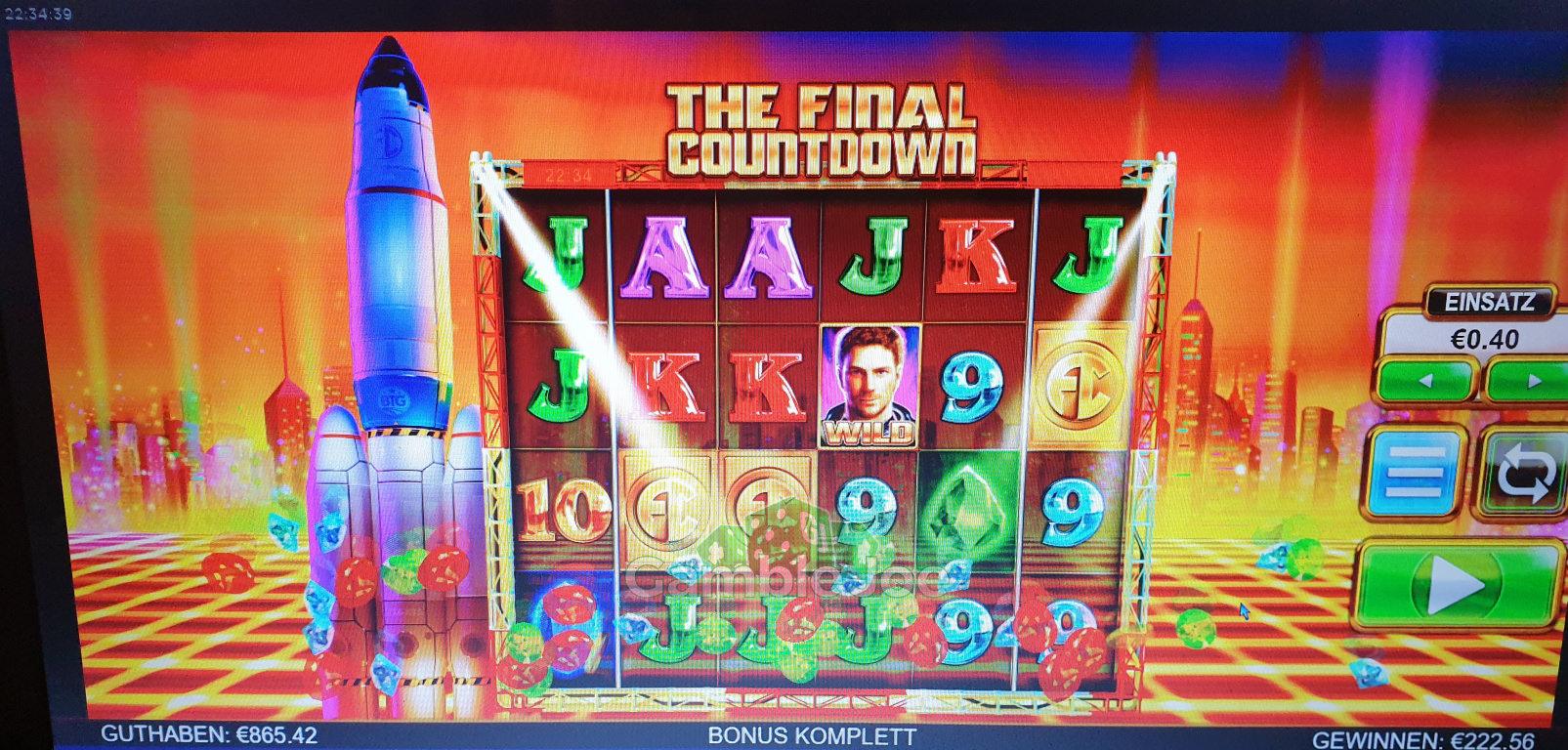 The Final Countdown Gewinnbild von Marlboroman