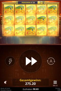Book of Gold Double Chance Gewinnbild
