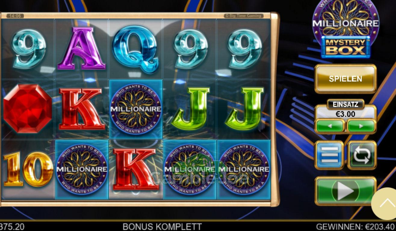 Who Wants to Be a Millionaire Mystery Box Gewinnbild von Chris26