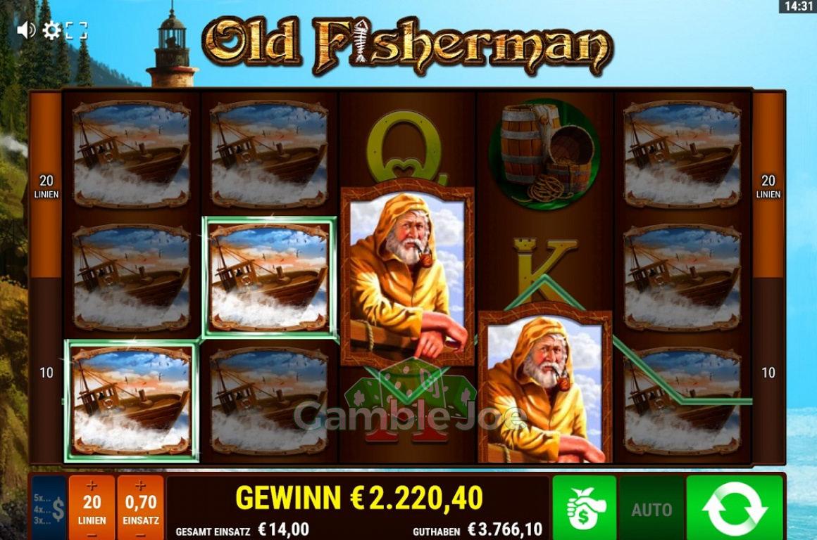 Old Fisherman Gewinnbild von alexj