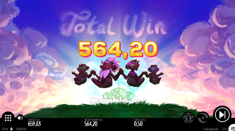Pink Elephants Gewinnbild von 1****2