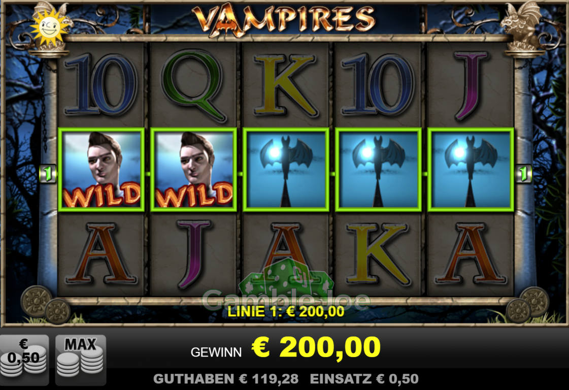 Vampires Gewinnbild von Kanalmalocher