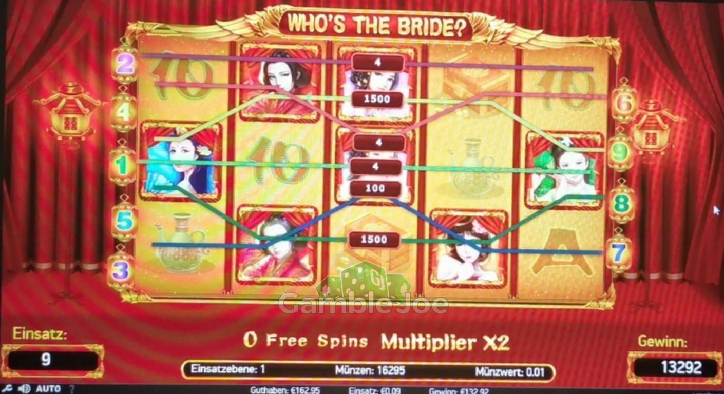 Who's The Bride? Gewinnbild von RebellYell