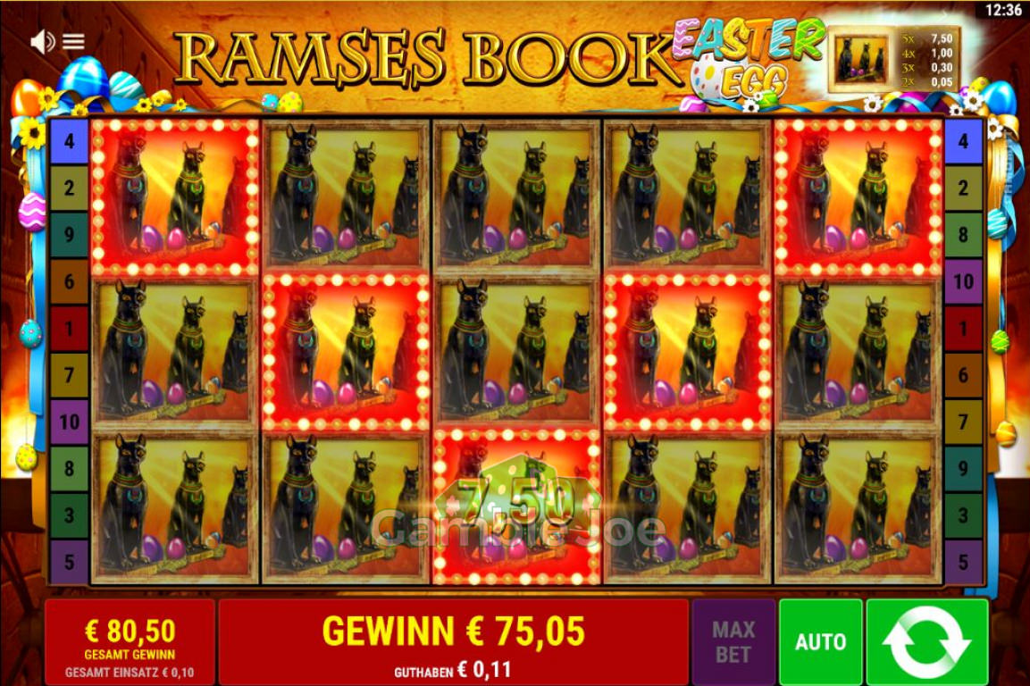 Spiele Ramses Book Easter Egg - Video Slots Online