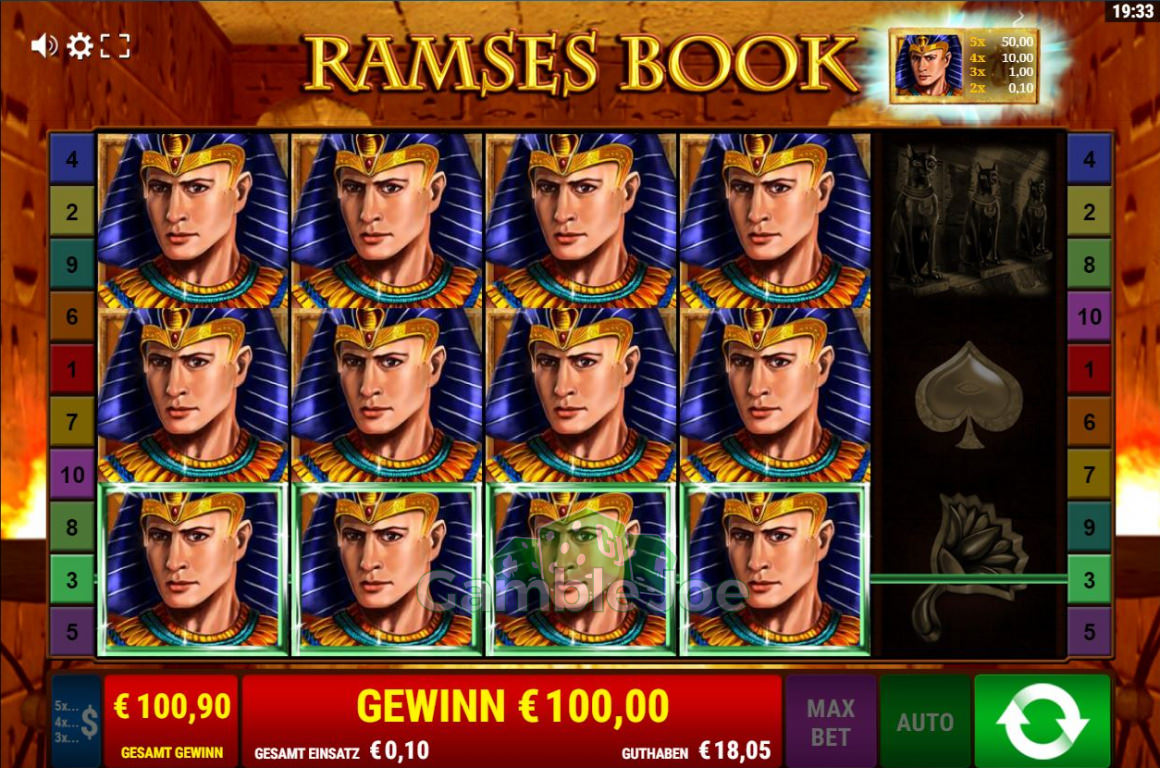 Ramses Book Gewinnbild von lance8411