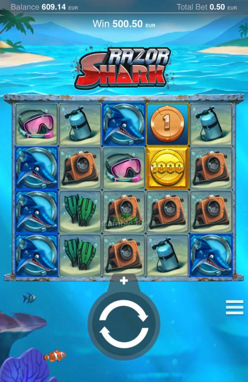 Razor Shark Gewinnbild von A****m
