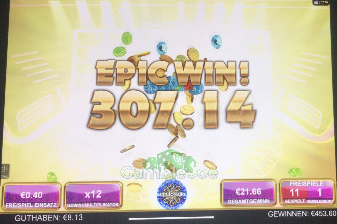Who Wants to Be a Millionaire Gewinnbild von Max1303