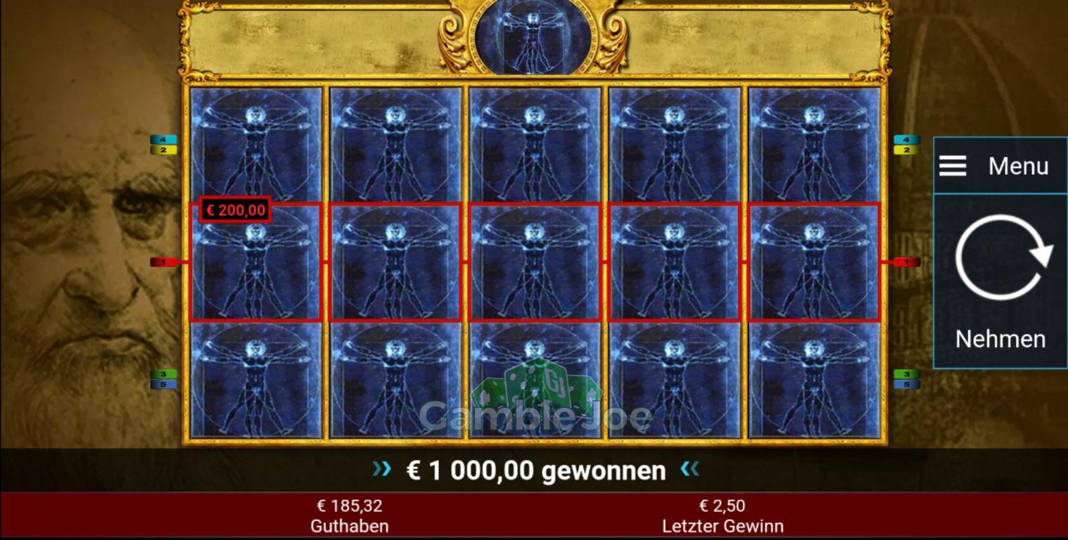 Leonardo's Code Gewinnbild von MikeG111213