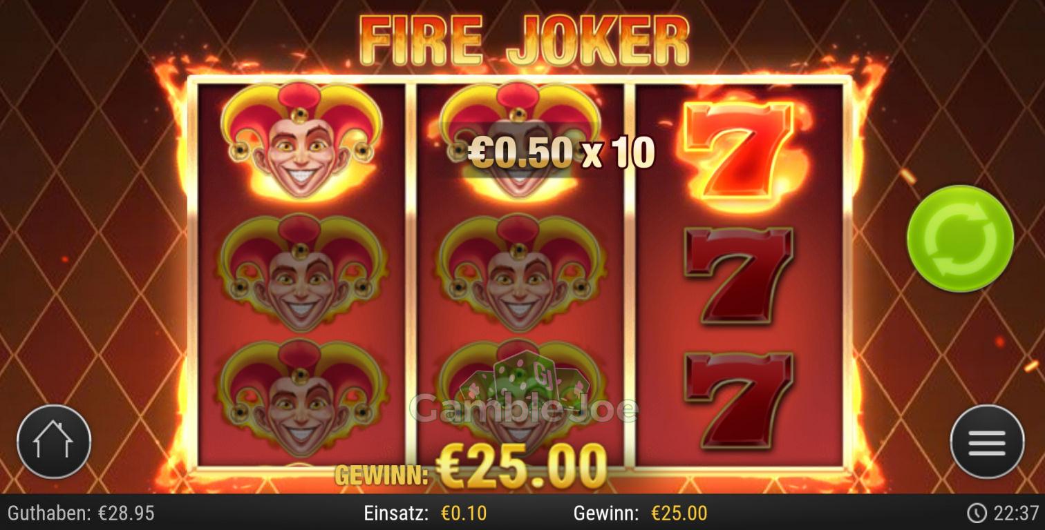 Joker Gewinne