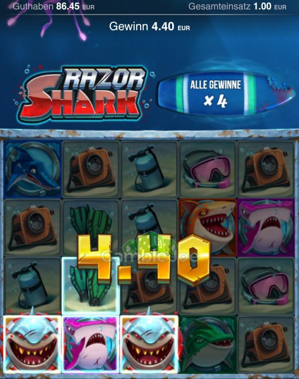 Razor Shark Gewinnbild von Nickii45